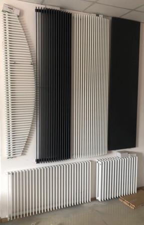 Дизайнерские вертикальные радиаторы отопления и полотенцесушители Vasc - main